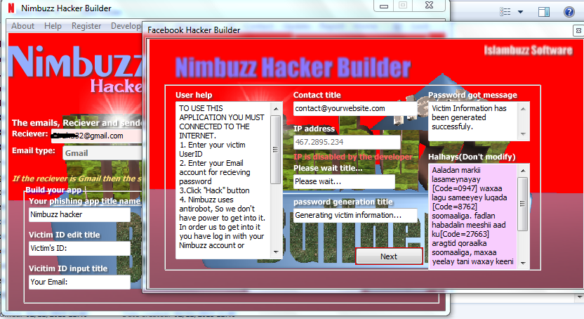 [PC] Nimbuzz Hacker Builder (NHB) Image