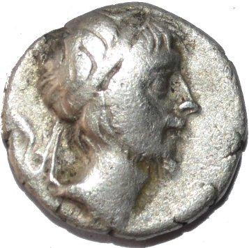 Dracma de Ariobarzanes III de Capadocia. A59