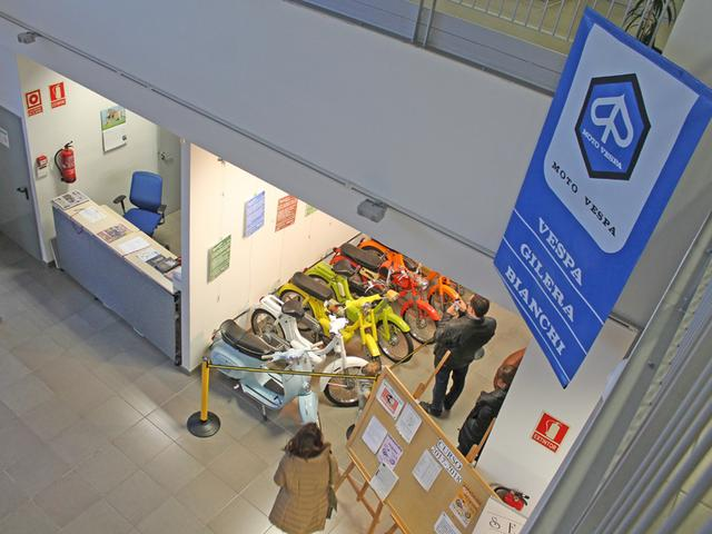 Exposición 50º Aniversario del Vespino, 17 Feb IMG_0483