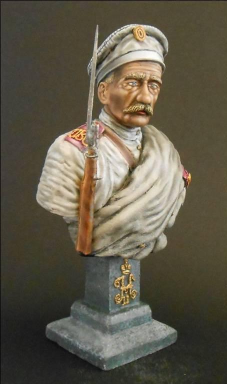 Soldat Russe, 12e Régiment de Tirailleurs Sibérie orientale 1904 Neu_1
