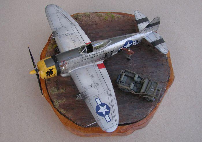 P-47D-30RE Thunderbolt, Revell, 1/72 DSC03164