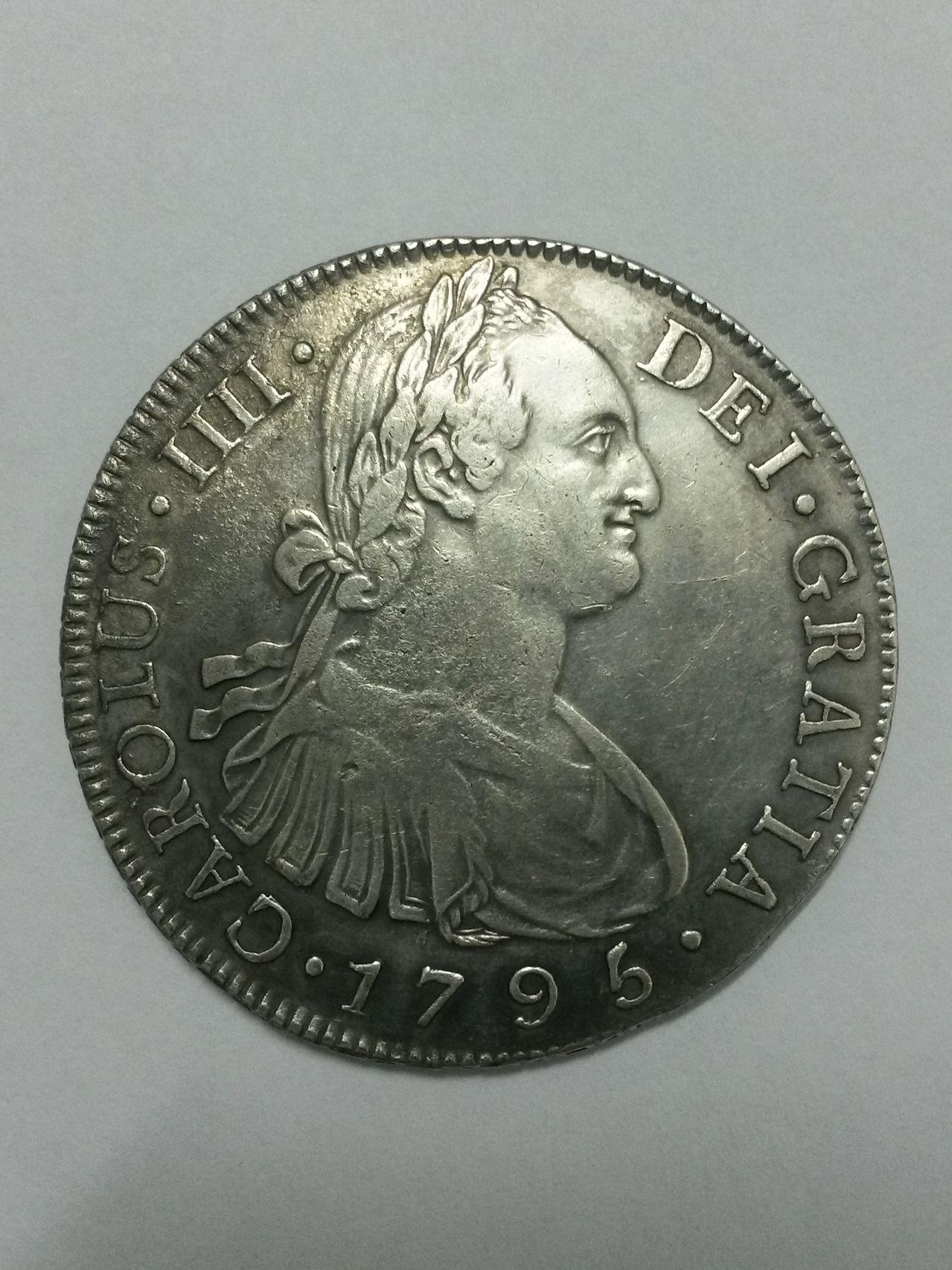 8 reales 1795/4. Carlos IV. Guatemala. Dedicada al Marqués de la Ensenada 20151020_232521_Richtone_HDR