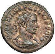 Aureliano de Probo. CLEMENTIA TEMP. Probo recibiendo globo de Júpiter. Ceca Tripolis. IMG_3808