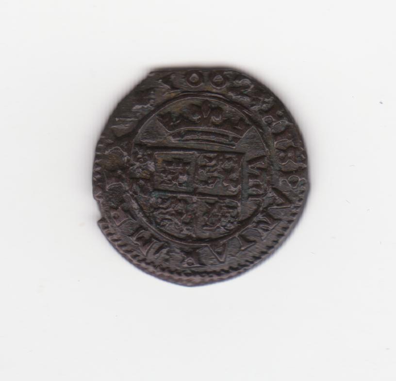 8 maravedís 1662. Felipe IV. Granada 8_maravedis_1660_001