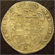 Filippo de 1657. Felipe IV. Milán Moedas_002