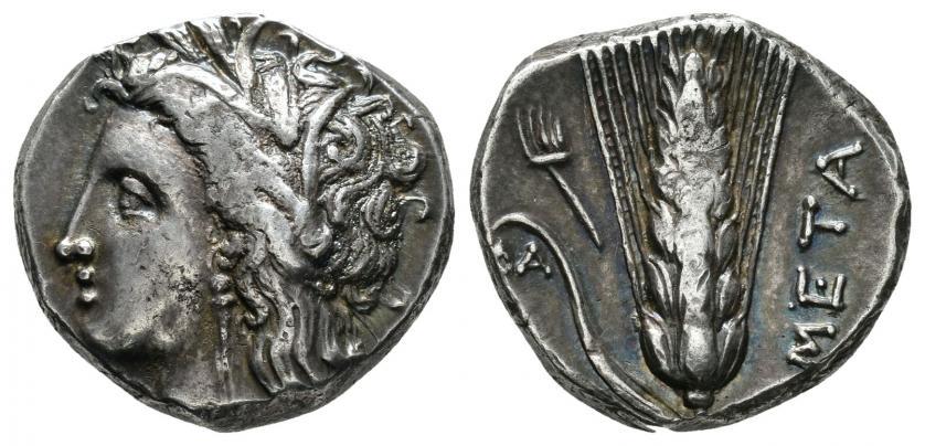 Lucania. Metapontion. Estátera (325-280 BC). De Tauler y Fau 001-16-14_1