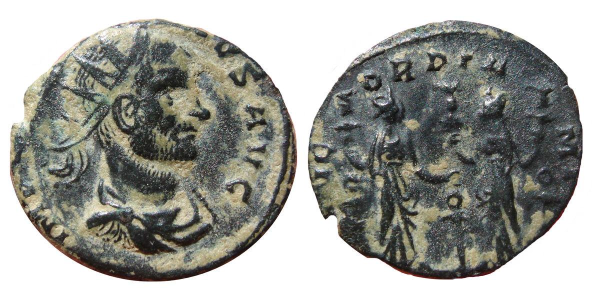 Antoniniano de Claudio II. CONCORDIA MILI. 1227