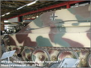 """Немецкая тяжелая САУ  """"JagdPanther""""  Ausf G, SdKfz 173, Deutsches Panzermuseum, Munster Jagdpanther_Munster_071"""