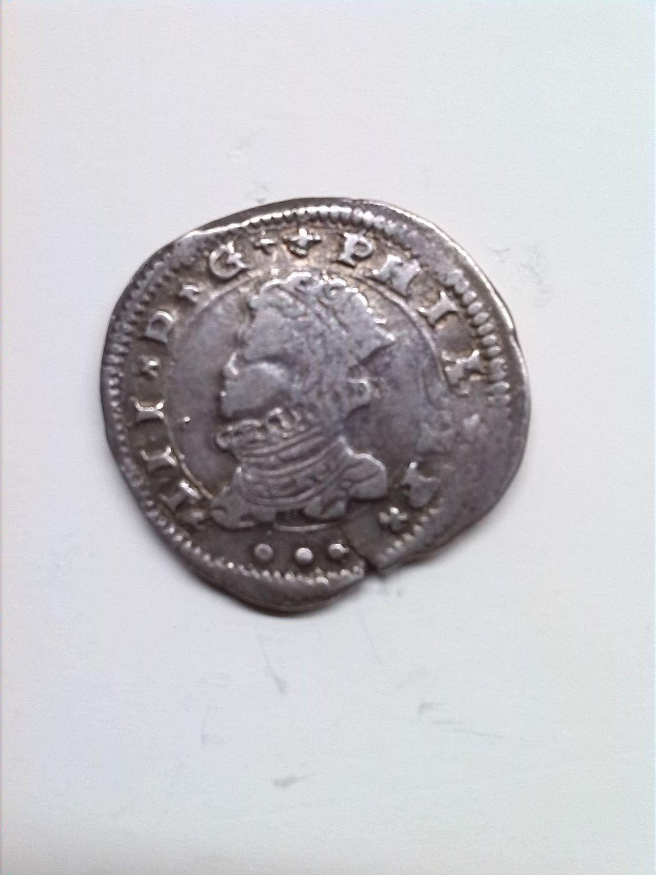 3 taris de Felipe III de Sicilia 1610 21_3_tari_1610