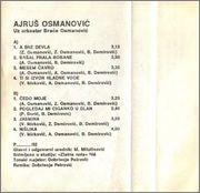 Ajrus Osmanovic - Diskografija Ajrus_Osmanovic_1992_Zadnja_Kas