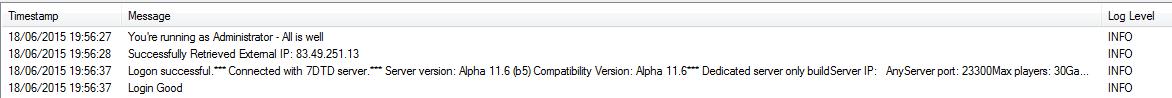 Alpha 11.5? tengo la 11.6 Server