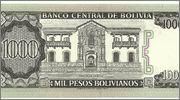 1000 Pesos Bolivianos, 1982 1000_pesos_bolivianos_1982_rev
