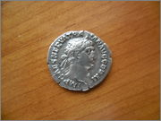 Denario de Trajano. P M TR P COS IIII P P - Hércules. Roma SAM_1382