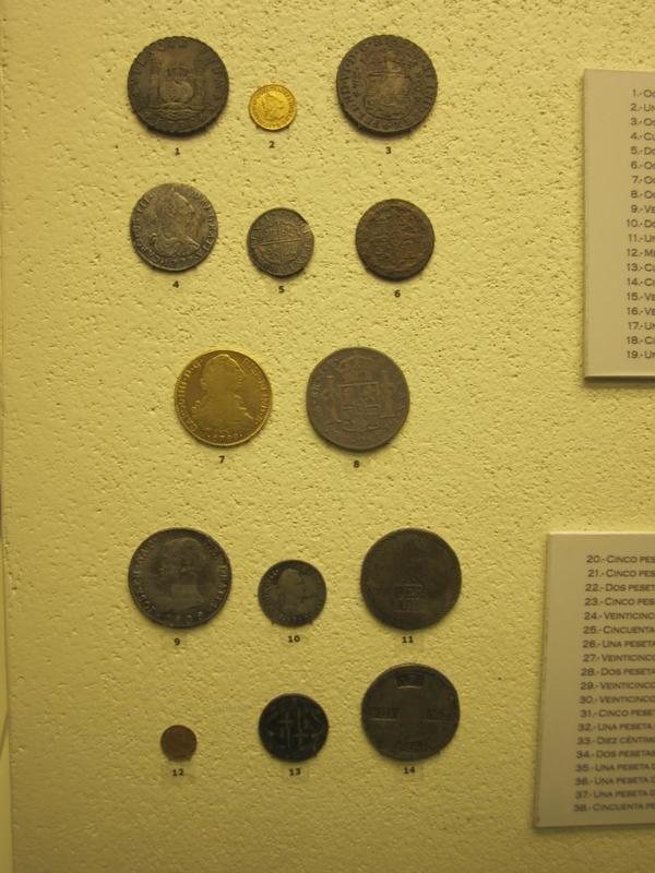Sección numismática museo de Cádiz Cadiz2