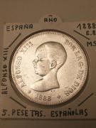 5 pesetas 1888. Alfonso XIII MS M IMG_20180212_121823