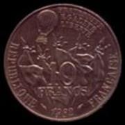 5 Francos de 1.870 Tipo Ceres Gambetta_r