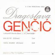 Dragoslava Gencic - Diskografija  Dragoslava_Gencic_1977_z