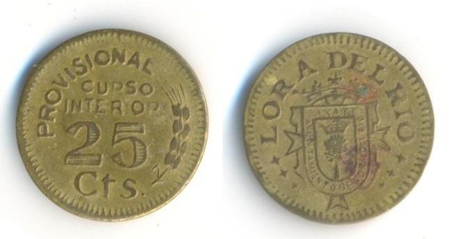 Moneda de 25cts de Lora del Rio 0_A3_L4