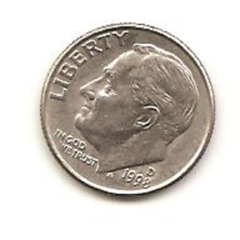10 centavo de 1998 Estado Unidos  Image