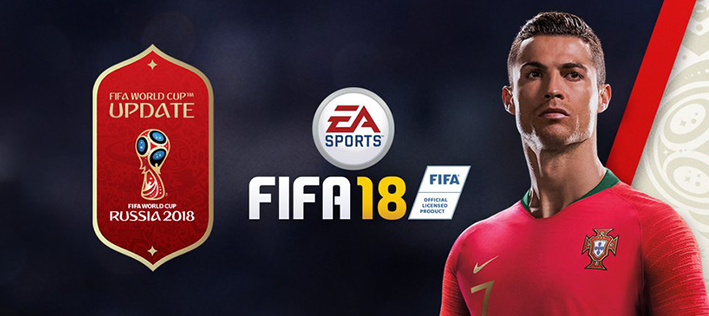 DLC FIFA World Cup 2018  Banner