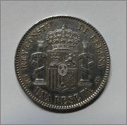 1 peseta 1903 *19-03 - Alfonso XIII 20150323_003658