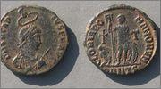 AE2 de Arcadio. GLORIA ROMANORVM. Ceca Constantinopolis. Arcadius_6962