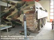 """Немецкая тяжелая САУ  """"JagdPanther""""  Ausf G, SdKfz 173, Deutsches Panzermuseum, Munster Jagdpanther_Munster_057"""