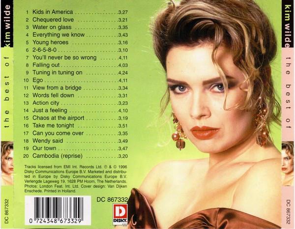 Kim Wilde - The Best Of - 1996, FLAC KIM1