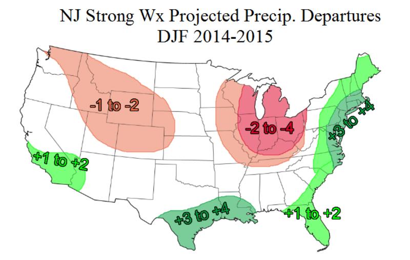 2014-2015 Winter Outlook! PRECIP_FORECAST