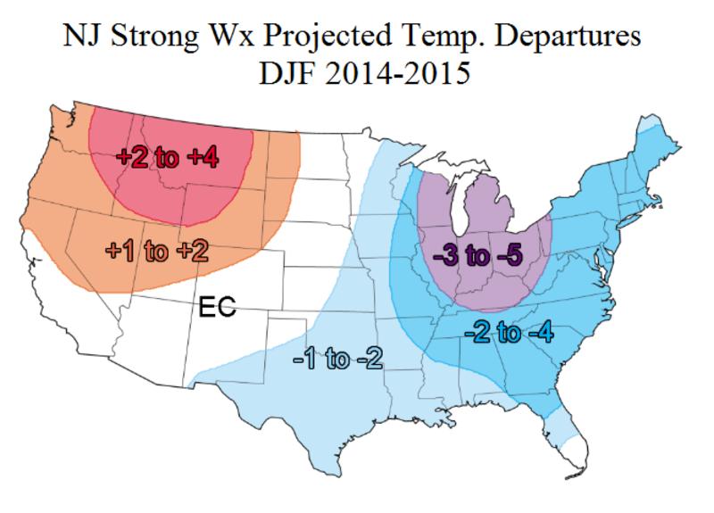 2014-2015 Winter Outlook! Temp_departs