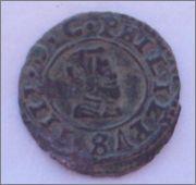4 maravedis 1664. Felipe IV. Madrid. 102_1201