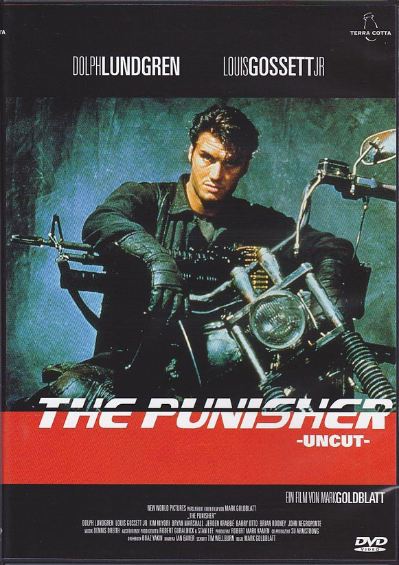 The Punisher (1989) en Bluray Steelbook para UK Cover_1