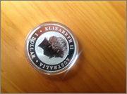 1 dolar koala 2011 mancha morada Image
