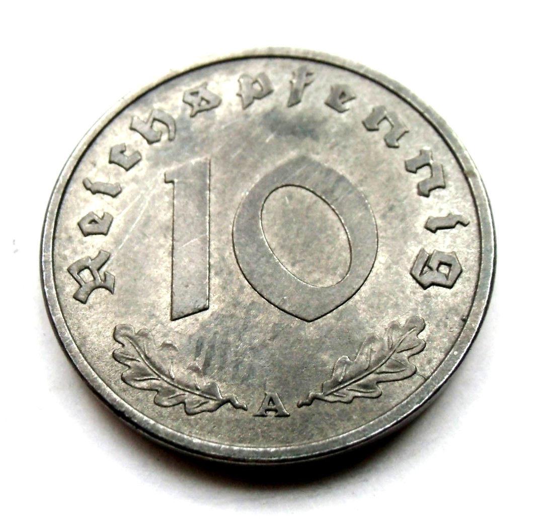 10 REICHSPFENNIG 1945  1945d