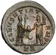 Aureliano de Probo. CLEMENTIA TEMP. Probo recibiendo globo de Júpiter. Ceca Tripolis. IMG_3809