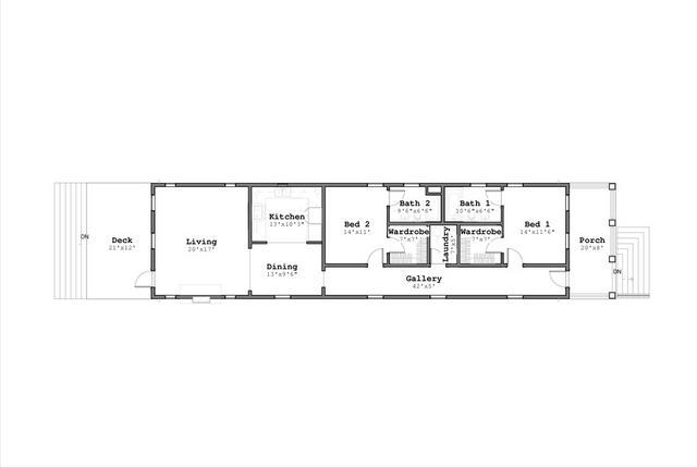 Stavba podle půdorysu Houseplan 1-pudorys