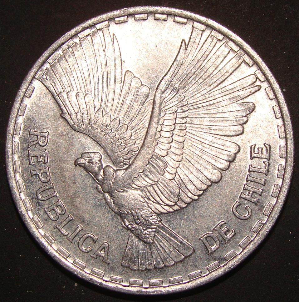 1 Centésimo de Escudo. Chile (1961) CHI_1_Cent_simo_Escudo_1961_anv