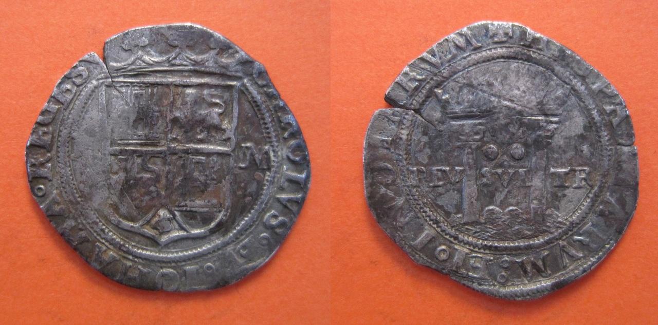 2 Reales de Juana y Carlos I, ceca México. 2_reales_M_xico_Carlos_V_y_Juana_1542