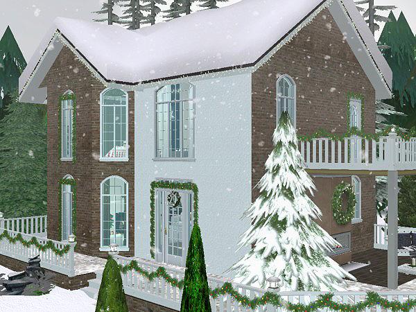 Vánoce u Simíků 2017 Christmas_Lane_oudoor_03
