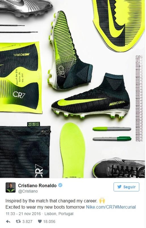 Esto Es Lo Que Gana Cristiano Ronaldo Por Aparecer En La Cuenta De Twitter De Nike DDWW