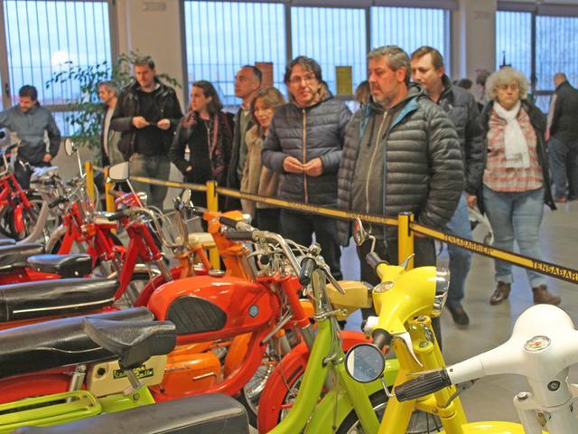 Exposición 50º Aniversario del Vespino, 17 Feb IMG_0490