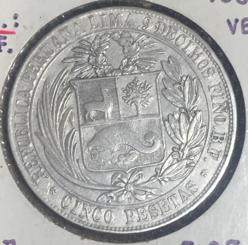 """Mi primera moneda de colección 5 pesetas 1880 Perú """"La Moñona"""" 5_pesetas_1880_R"""