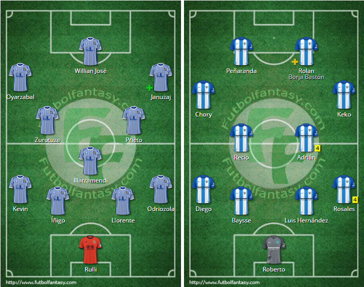 LIGA J15ª: REAL SOCIEDAD vs MALAGA CF (Dom 10 Dic 12:00 / BeinSport) MCF_B