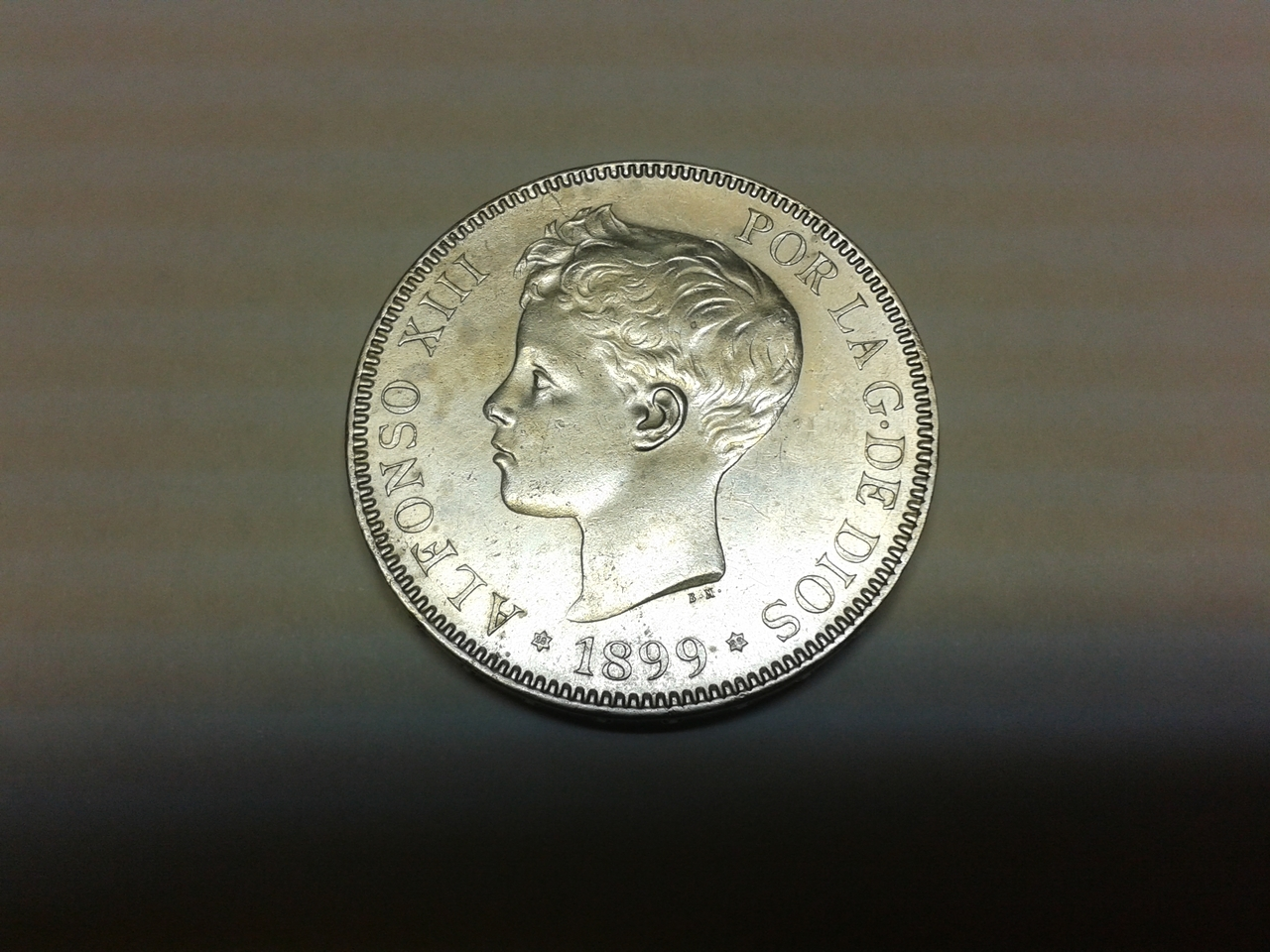5 pesetas 1899 - Alfonso XIII 20141019_233540