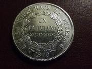 1 Boliviano de 1.870. Bolivia DSCF2752
