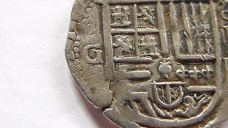 4 reales de Felipe II, Granada. F sobre lo que parece ser una D SAM_1071