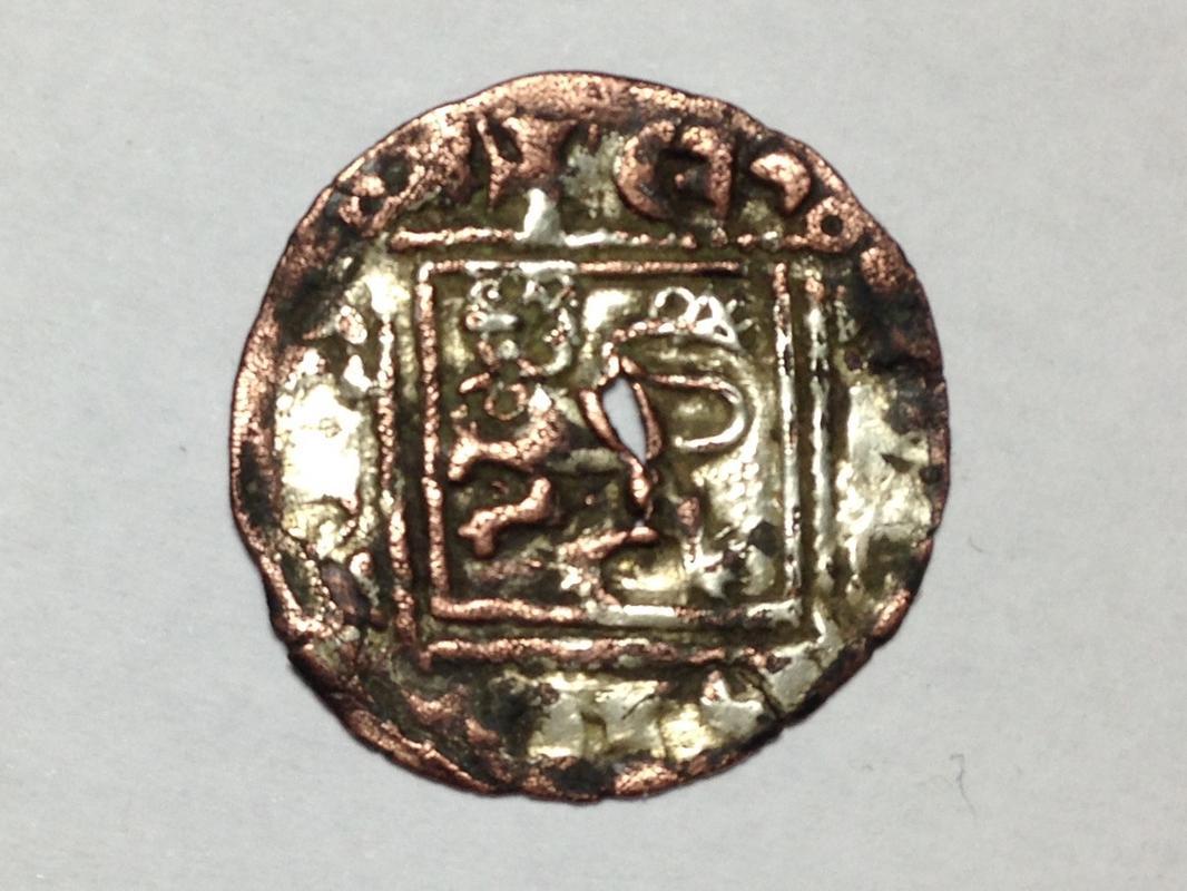 Dinero de Alfonso XI emisión de 1330. Burgos (Falso de época) IMG_1152