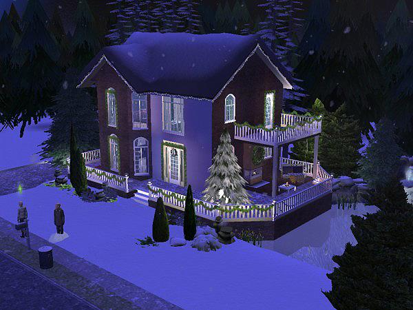 Hellohello: Domy Christmas_Lane_oudoor_24