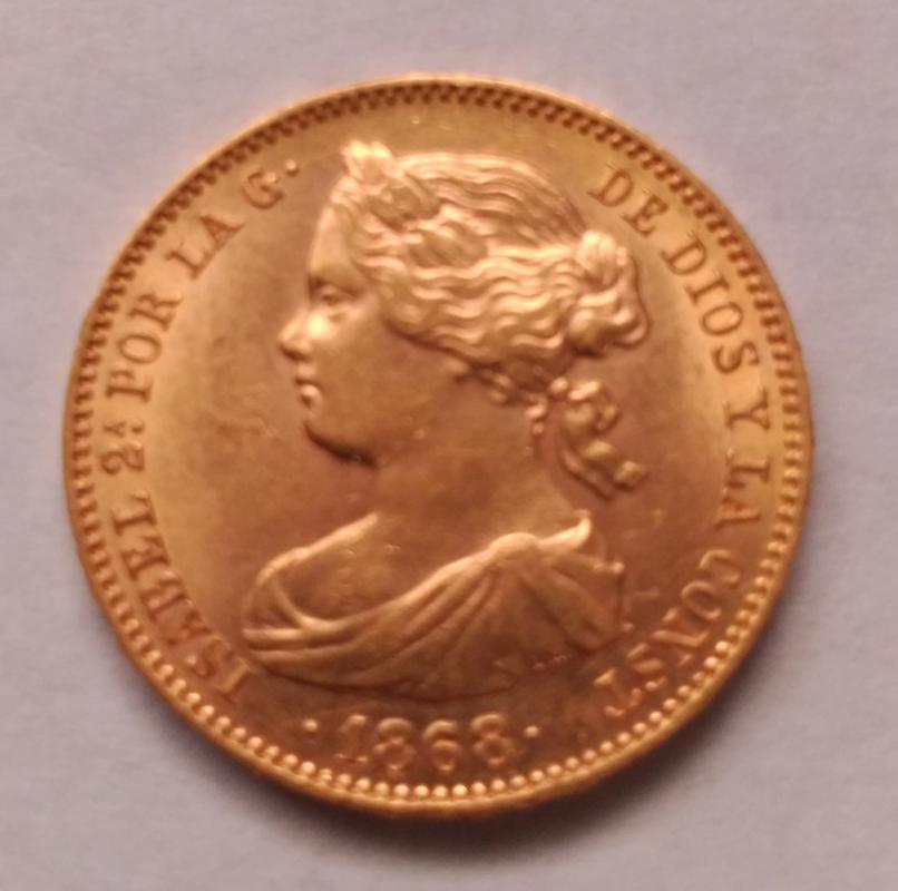 10 Escudos 1868 (*18-68). Isabel II. Madrid IMG_20180505_144230