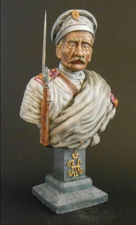 Soldat Russe, 12e Régiment de Tirailleurs Sibérie orientale 1904 Neu_2